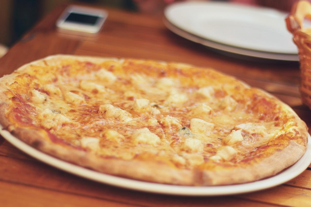 Pizza Mittagskarte